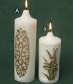 Design Pillar Candle