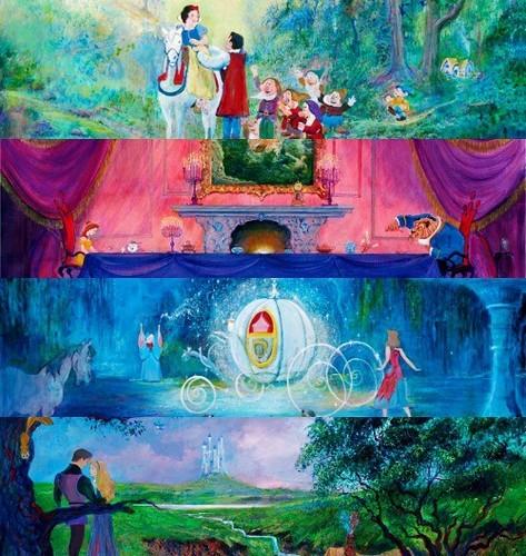 Disney Princess Artwork