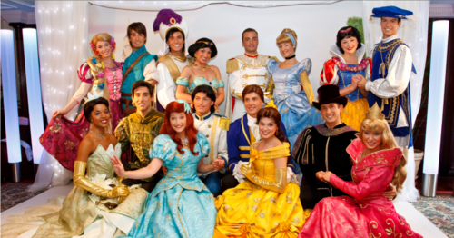 Disney Princesses in DLP