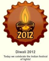 Diwali 2012 ٹوپی
