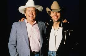 Dwight Yoakam and Buck Owen