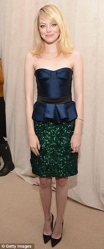 Emma attends CFDA / Vouge party