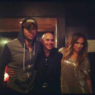 Enrique Iglesias, Pitbull & jennifer Lopez