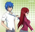 Erza and Jellal Ova