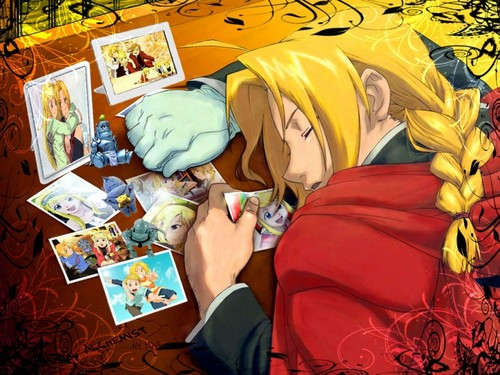full metal alchemist wallpaper containing anime entitled FMA wallpaper