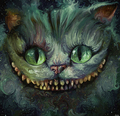 peminat art - Cheshire Cat