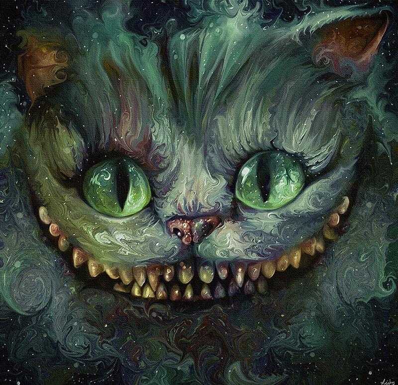 प्रशंसक art - Cheshire Cat