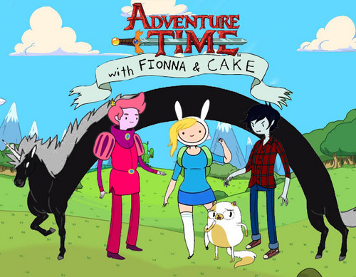 Fionna and Cake in The Land of Aaa