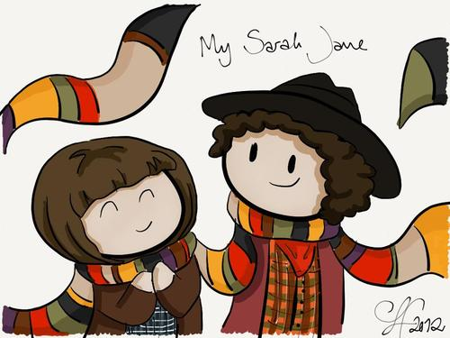 Four/Sarah Jane <3