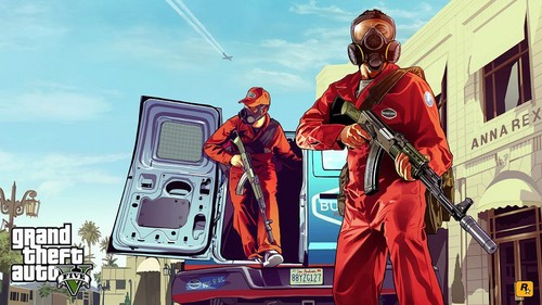 Grand Theft Auto Wallpaper Entitled GTA5