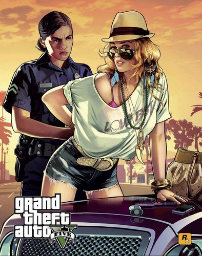 Grand Theft Auto Wallpaper With Anime Titled GTA5