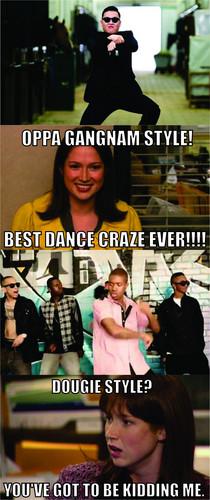Gangnam vs. Dougie