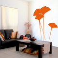 Gingkgo Leaves Wall Sticker - home-decorating photo