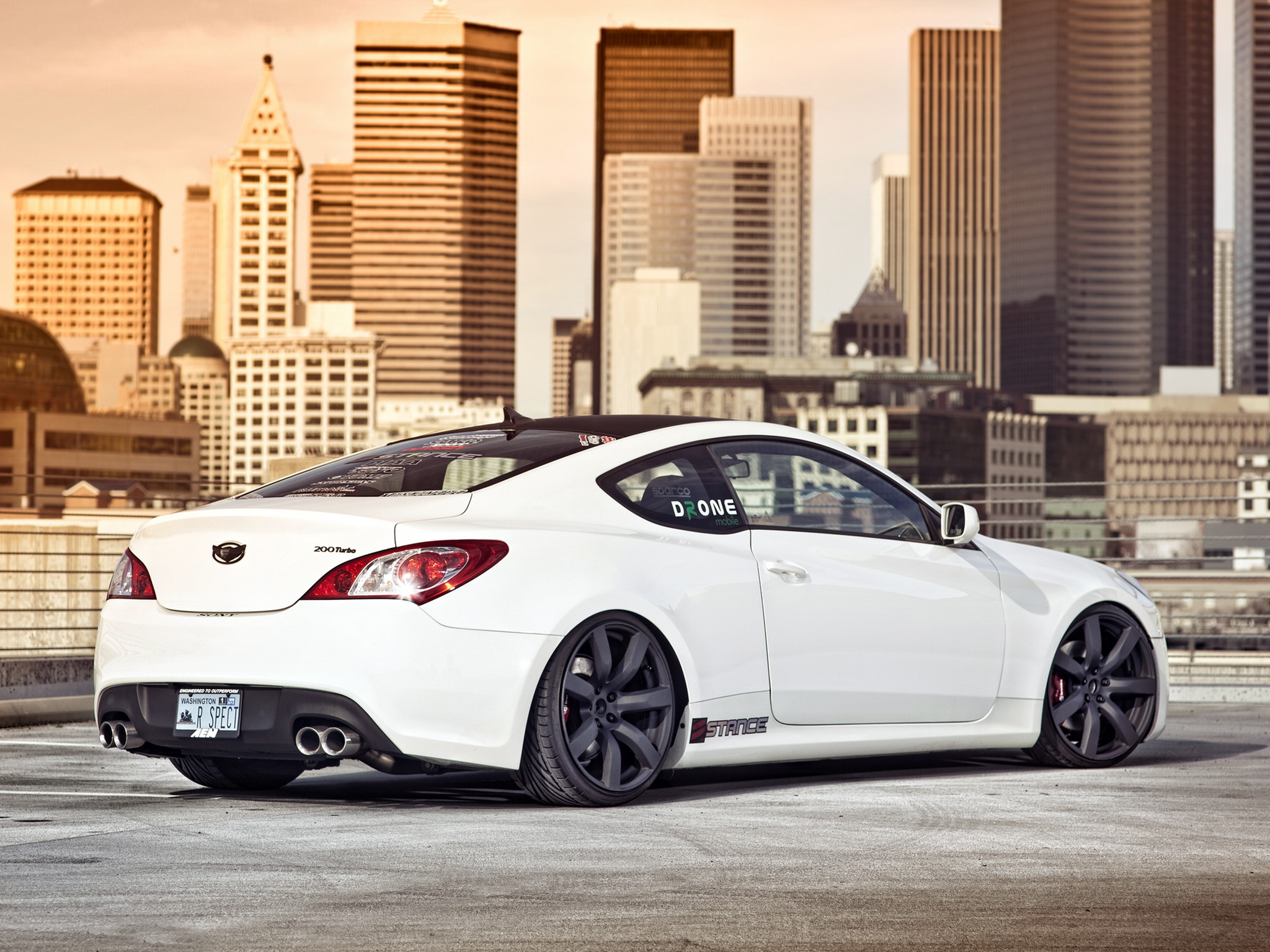 Hyundai Images Hyundai Genesis Coupe By Mad Panda Hd Wallpaper And