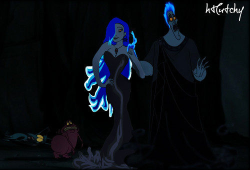 disney crossover achtergrond titled Hades & Alekto