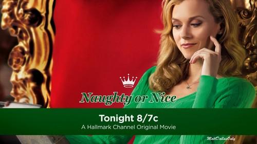 Hilarie burton on her new movie Naughty অথবা Nice
