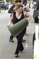 Hilary - At yoga class - October 21, 2012 - hilary-duff photo