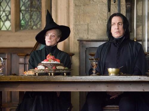 Hogwarts Professors fond d'écran
