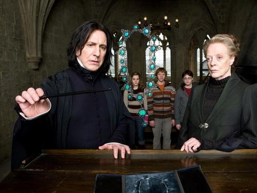 Hogwarts Professors fondo de pantalla
