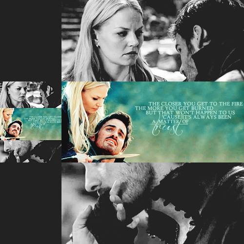 Hook&Emma - Captain Hook and Emma Swan Fan Art (32760838 ...