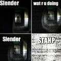 How An Idiot Plays Slender - the-slender-man photo