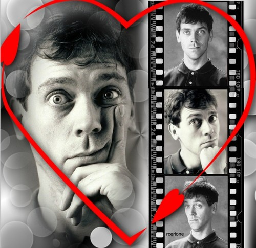 Hugh Laurie Photoshoot 1990