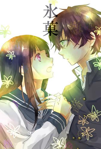 Hyouka- Chitanda Eru & Oreki Houtarou