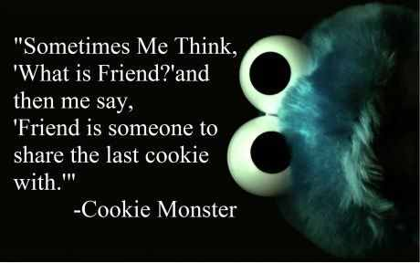 I want to share my last cookie with you!
