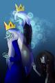 Ice King And marceline Sad