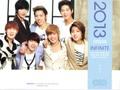 Infinite 2013 Japon Calendar