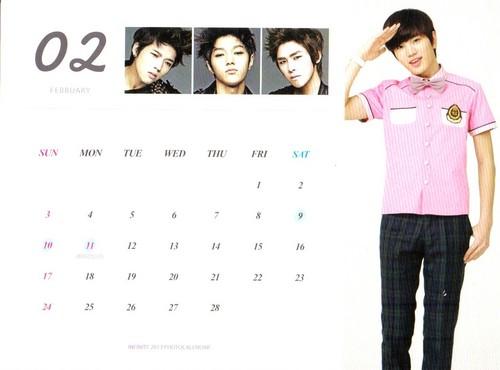 Infinite 2013 日本 Calendar