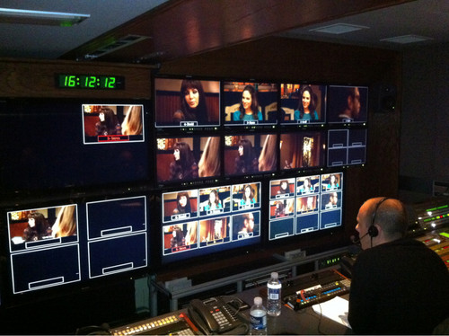 Inside the Editing Truck