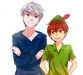 Jack Frost & Peter pan