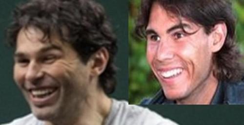 Jagr and Nadal smile