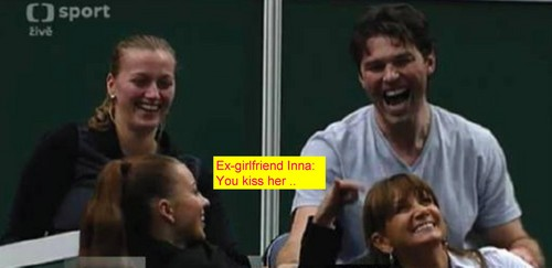 Jagr ex-girlfriend Inna: wewe kiss her..
