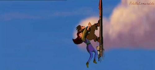 Jim Taking Kayley Flying