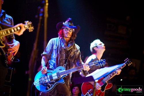 Johnny at Petty fest