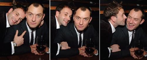 Jonny Lee Miller & Jude Law
