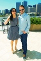 Jonny Lee Miller with Lucy Liu