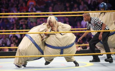 Kaitlyn at NXT