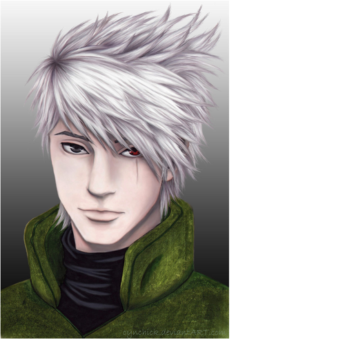 Kakashi's Real Face