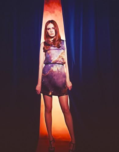 Amy Pond वॉलपेपर called Kazza Gillan!!!