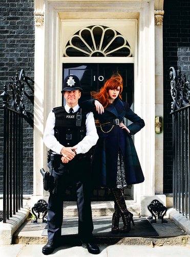 Kazza visits Downing Street! :D