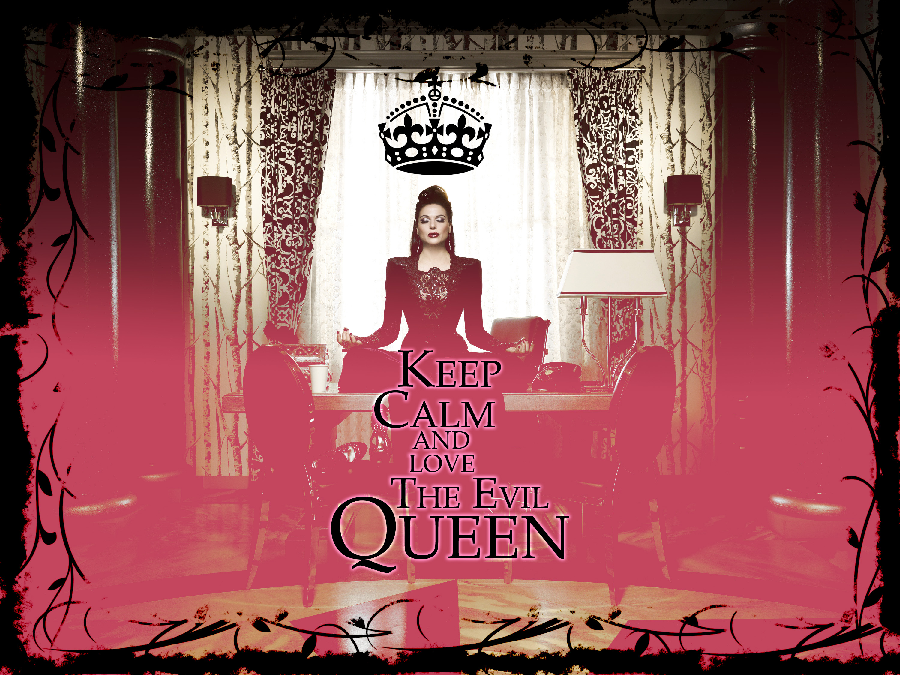 Keep Calm and amor The Evil queen