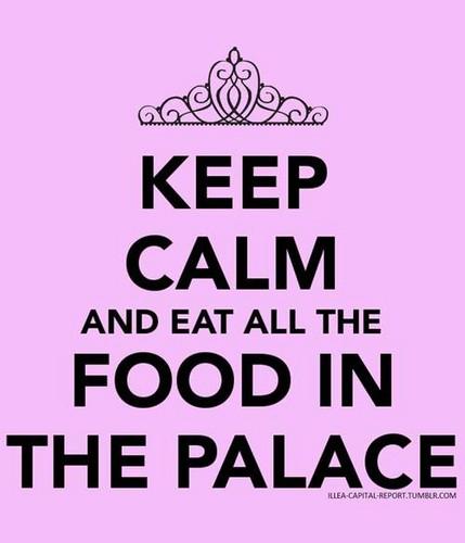 Keep calm(the selection)