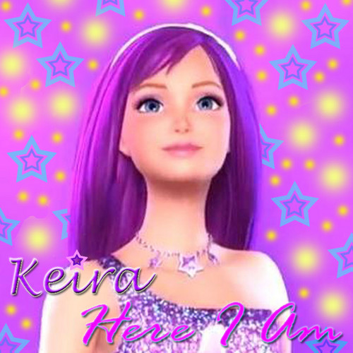"Barbie فلمیں پیپر وال titled Keira's debut single ""Here I Am"""