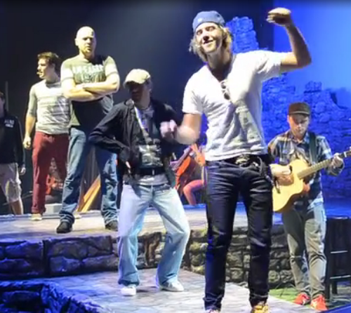 keith harkin fondo de pantalla entitled Keith and Neil dancing during soundcheck