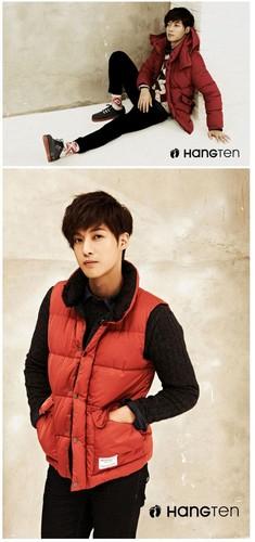 Kim hyun joong ~ CF - Hang Ten