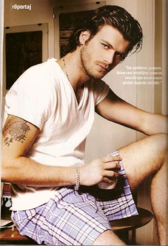 Turkish Actors and Actresses wallpaper probably containing a sign called Kivanc Tatlitug sexy