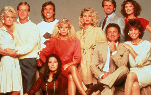 Knots Landing kertas dinding called Knots Landing cast